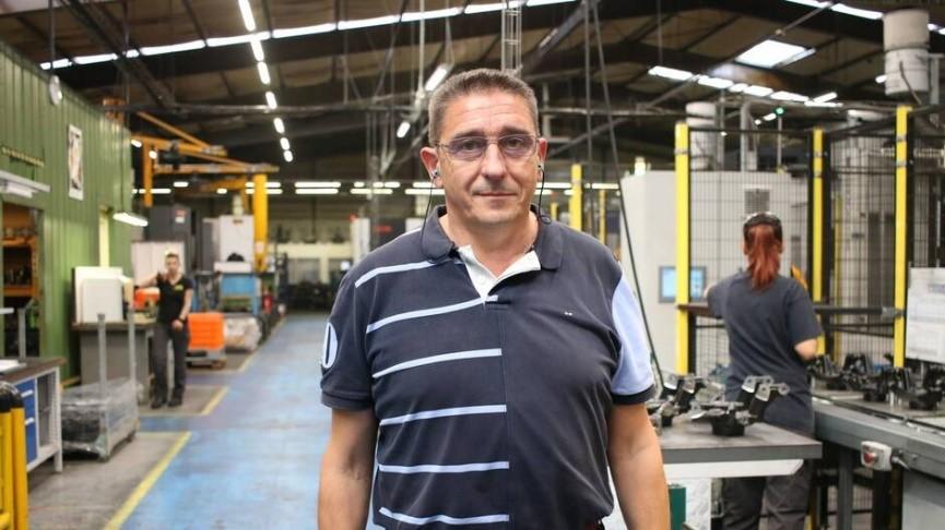 Eric Rorive, director of Société électromécanique diversifiée (SED).   OUEST-FRANCE - Mathilde LECLERC. Published on 25/10/2019