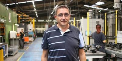 Eric Rorive, directeur de la Société électromécanique diversifiée (SED). | OUEST-FRANCE - Mathilde LECLERC. Publié le 25/10/2019